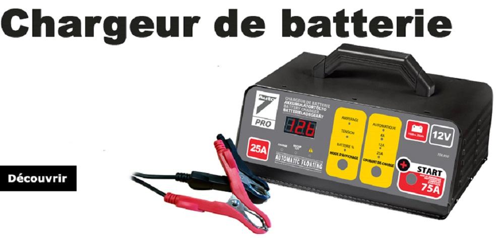 acheter meilleur chargeur de batterie voiture